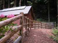 間伐材利用特許フェンス